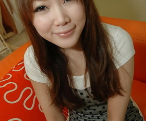 Asian teen Tomoe Nitta..