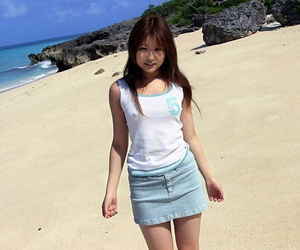 Lovable Japanese girl Miyu..